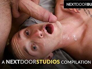 NextDoorStudios – Guys Eating Cum Compilation