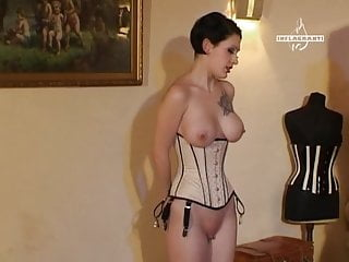 Cfnm Bondage Sex Toy video: corset sex
