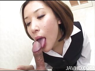 Office girl Emi Orihara is given a promotion after she gives