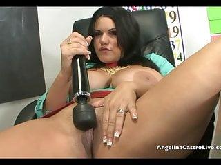Angelina Castro Jerk Off istruzioni in classe