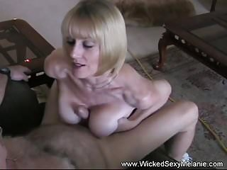 Cum from amateur granny...