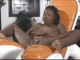 Black Chick Gets Naked And Plays With Her Pussy