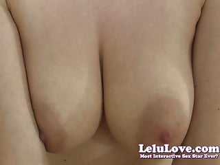 Lelu Love-Virtual BJ Fuck Cum On Tits