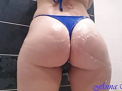 In the shower with my beautiful ass! Anna Mole