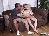 Perverted Daddy Seduces Straight Teen Boy And Bareback Fucks