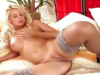 Nude thigh high stockings...