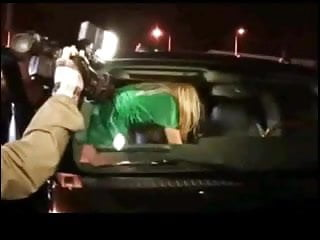 Britney Upskirt  in Car by TROC