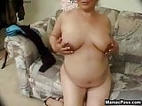 Dick-drilled knocked up beauty