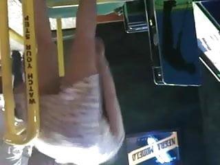Playing Arcade Mini Golf