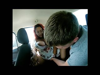 Big Nipples Eating Pussy Doggy Style video: Ebony slut I fucked in the back of my car