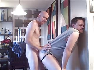 Older bitch breed by hung young cock...