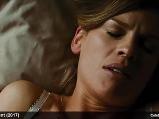 Celebrity hilary swank almost scenes...