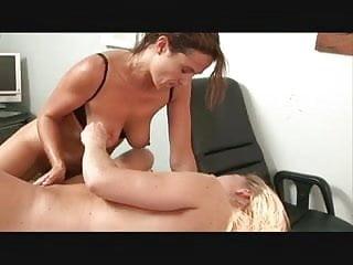 Sex scene in the office...