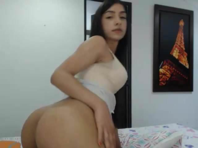 Blondine Teen Shemale Solo