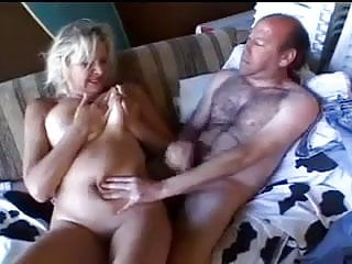 Blonde mature is up for...