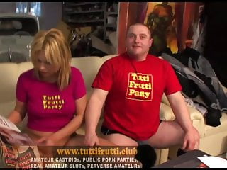 first timer slut on casting