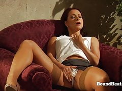 Education of Adela:Voyeur Doctor Spies On Mistress And Slave