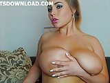 She loves to show her big tits