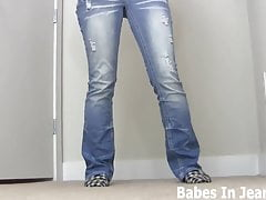 Is my ass in jeans turning you on JOI