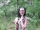 Bitch STOP - Horny Czech student chick fucked outdoor