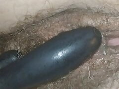 Vibrator and penis