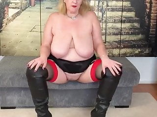 Mature bbw women lusts young hung bbc creampie...