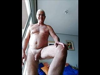 Grandpa home nudist...