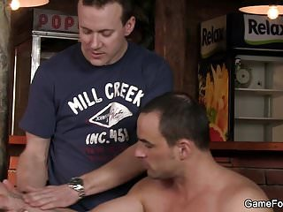 Sex in the bar...
