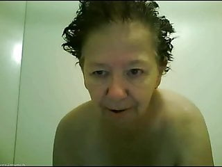 Granny Dorothy Bathes & Plays on the old Camfuze 20121114