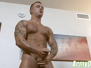 Horny johnny b until he cums hard...