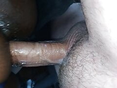 I pump a MASSIVE LOAD into her pussy after she sucks my cock