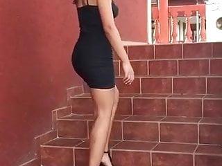 Small black skirt
