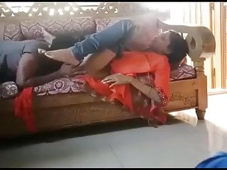 Indian girlfriend and BF Have Scortching hot Closeup Sex On The Sofa (With Scortching hot Bathroom Dance)