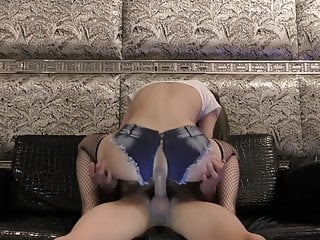 Hot young Japanese slut in sexy clothes gets hard fucked