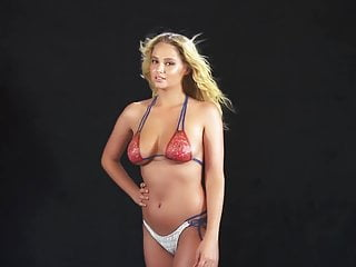Genevieve morton si 2015 body paint nude photoshoot...