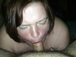 My wifey sucking my little shaft