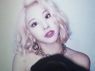 CHAEYOUNG TWICE cum tribute