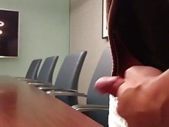 jerking and cumming in a conference roomPorn Videos