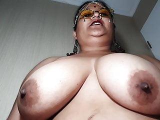 Indian XL girl - Namaste and cum swallow