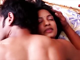 Indian hot aunty college student...