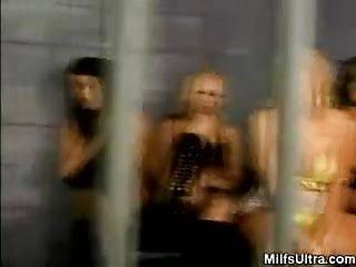 Hot Milf Prison Party