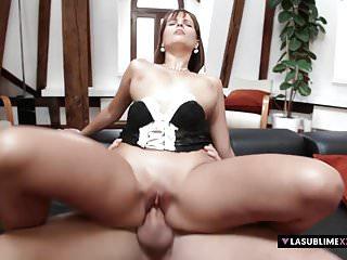 LaSublimeXXX Busty Rita Argiles gets big cock in her pussy