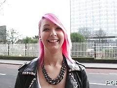 Teen cutie pissing in her pants outdoors