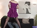 Glamour british mature in stockings doggystyle rammed