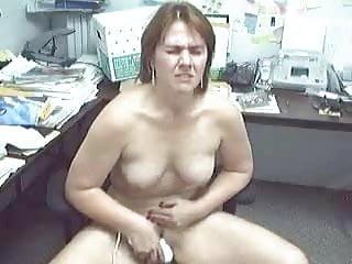 Chair orgasm