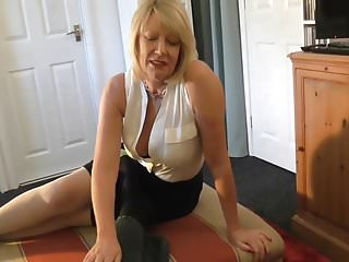 Hot mom fucking with a younger toy boy...