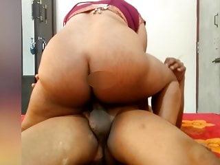 Desi Maroon Hottie Riding on Me and Create Me Cum On Her Mega big B