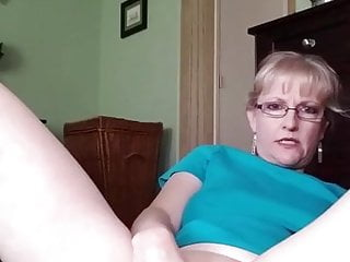 Blonde Mature Girl's Anal Masturbation (reposted)