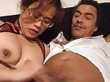Hot Asian MILF threesome