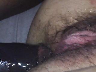 in Sliding MILF hard cock ass